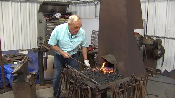 Longtime Lakeland blacksmith has been perfecting his work for decades