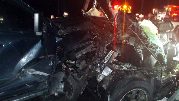 Wrong-way I-75 driver causes head-on crash