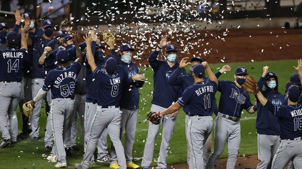 Rays beat Mets, clinch 1st AL East title in 10 years