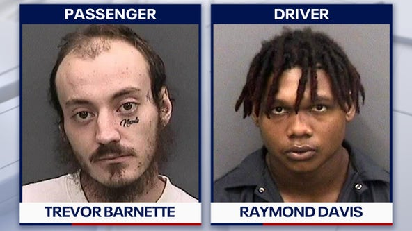 Pair arrested after apparent road-rage shootings