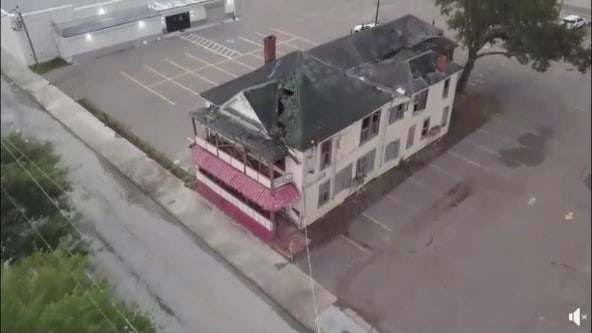 USF team using 3D laser scanning to restore Tampa's famed Jackson House