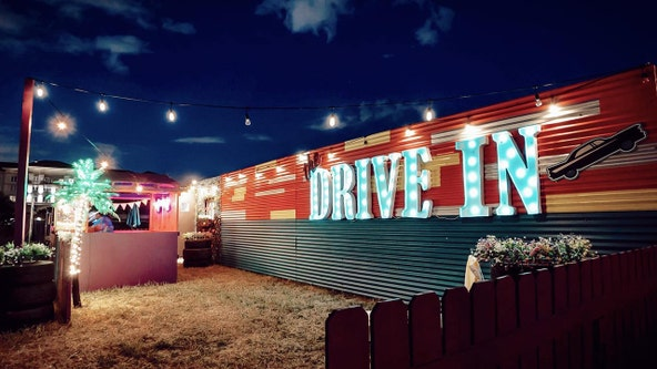 Drive-in theater opens at Armature Works, for a limited time