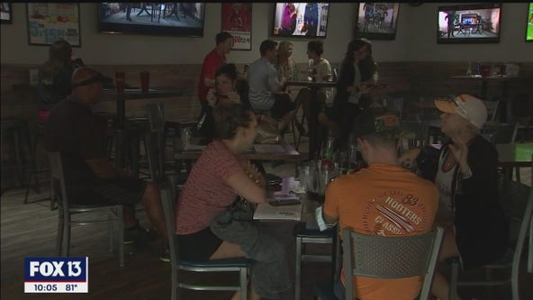 Raymond James Stadium practically empty for Buccaneers home opener, fans flock to local sports bars to watch