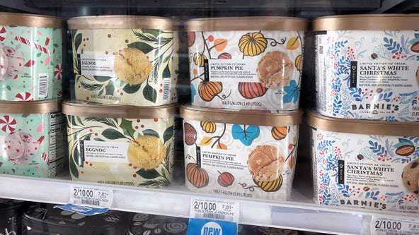Publix holiday ice cream flavors are back in stores -- for a limited time