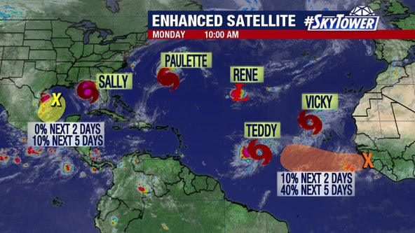 Hurricane Paulette hits Bermuda, grows to Category 2Hurricane Sally 2014