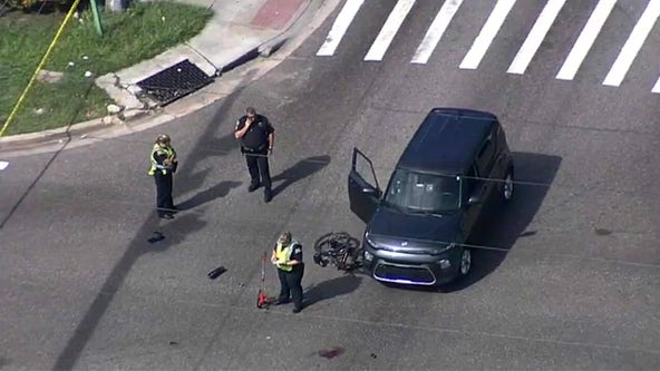 Bicyclist injured in St. Pete hit-and-run crash