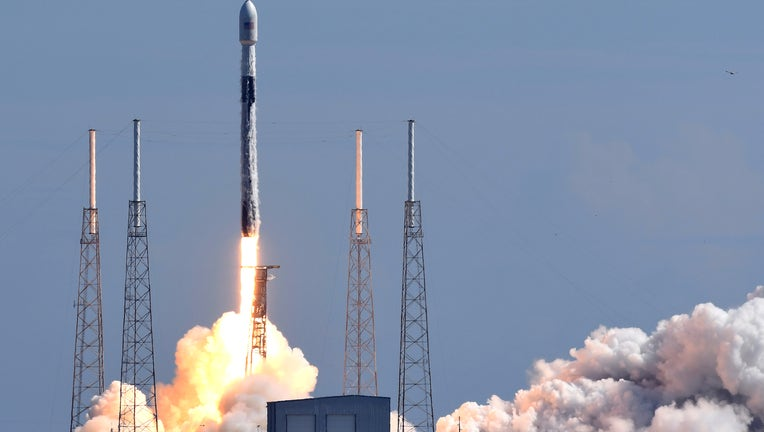 SpaceX Launches Starlink Satellites From Cape Canaveral
