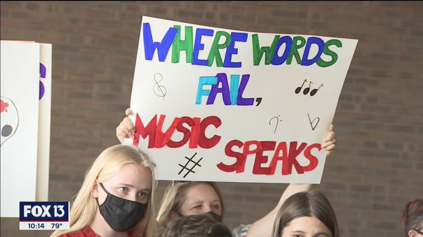 Hillsborough teachers, students plan protest as school board meets to discuss budget cuts