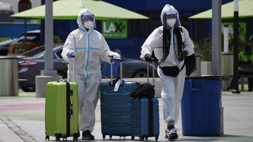 CDC identifies nearly 11,000 potential COVID-19 exposures on 1,600 flights