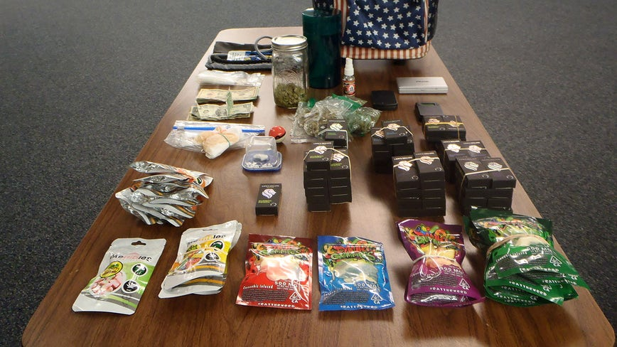 Crashed car was carrying illegal drugs, troopers say