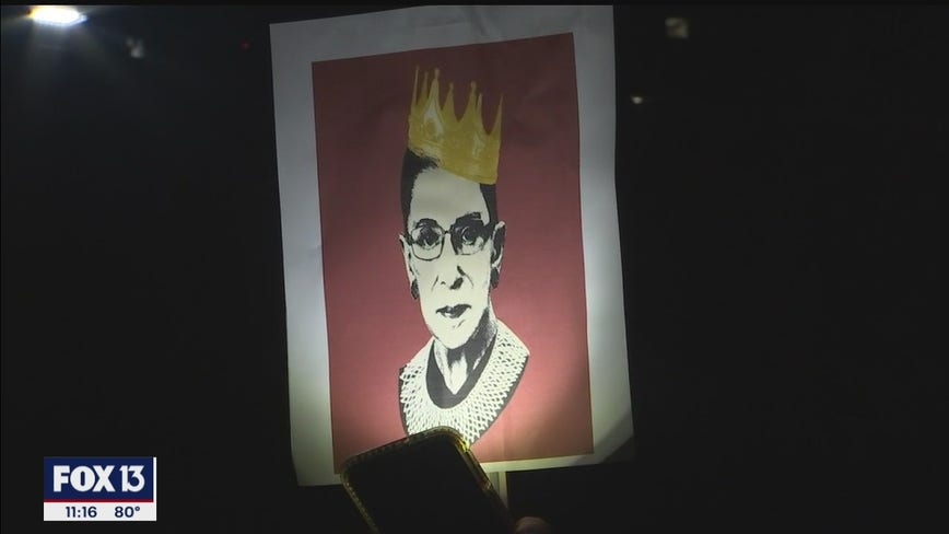 'We're in collective mourning over the loss of a hero': Bay Area remembers Ruth Bader Ginsburg
