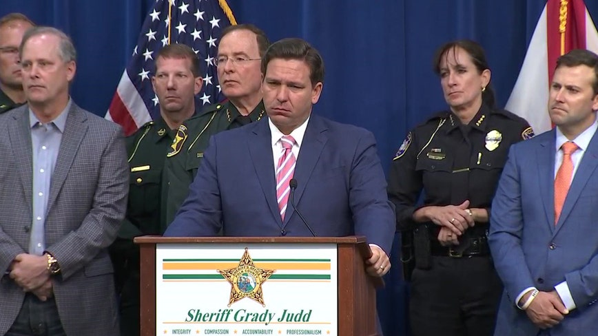 Florida governor introduces legislation with harsh penalties against disorderly assemblies