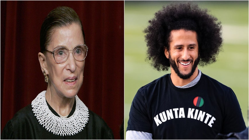 Ginsburg once thought Kaepernick's national anthem protest was 'really dumb,' compared it to flag burning