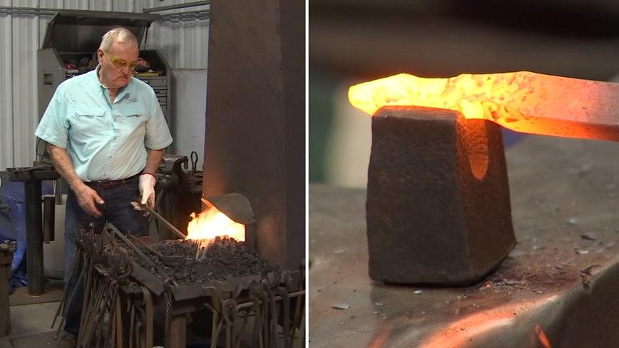 From horseshoeing to molding metal art, a Lakeland blacksmith has led an interesting career