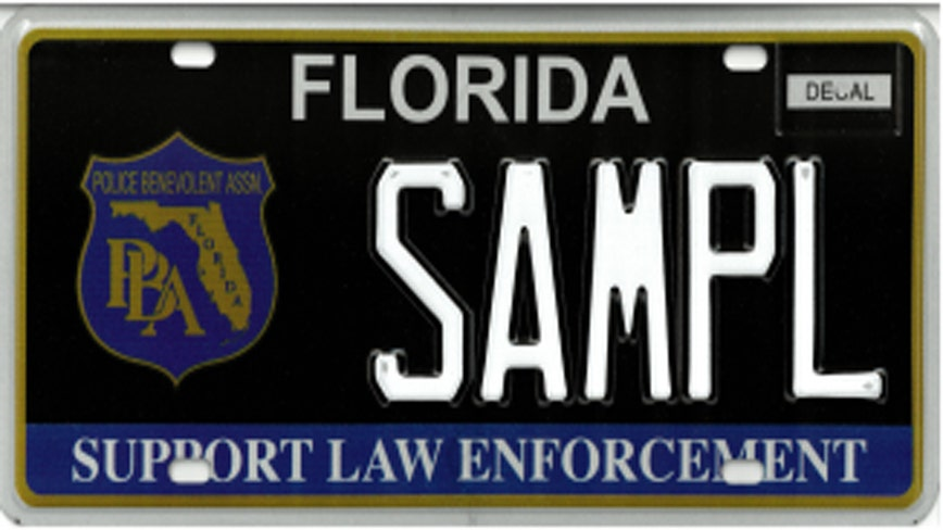 After 18 years, 'Support Law Enforcement' specialty license plate gets makeover
