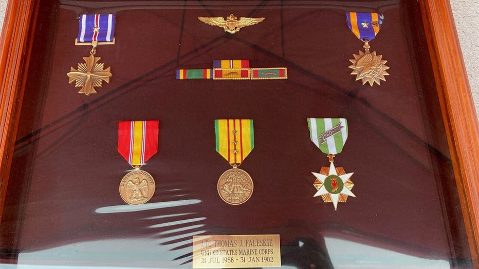 Stolen medals