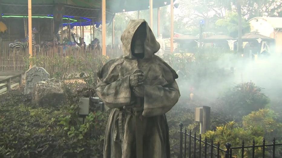 Grim Reaper at ZooTampa