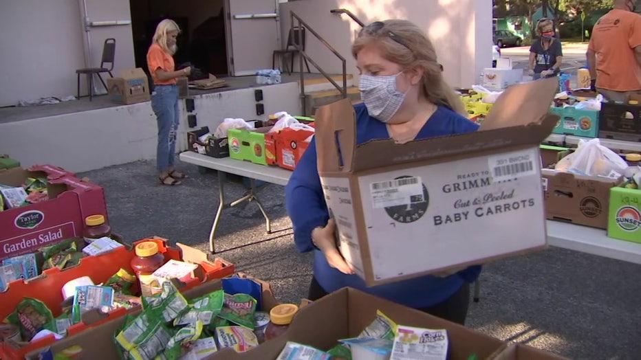 Meals on Wheels for kids volunteers