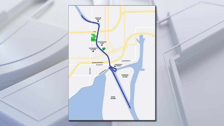 Tampa Bay Lightning boat parade route for Stanley Cup win