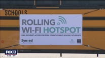 Mobile hot spots help bridge digital divide