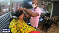 Barber promotes literacy