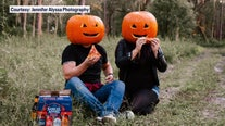 Festive photoshoot brings needed laughs and smiles during pandemic