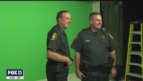 Polk deputy raises funds for Speech and Hearing Center