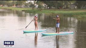 Former Olympian brings water sports brand to area