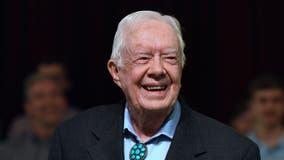 Former President Jimmy Carter celebrates his 96th birthday