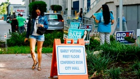 Floridians line up as early voting starts
