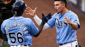 Arozarena homers again as Rays beat Astros in ALCS opener