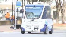 Tampa's first autonomous shuttle begins operating in downtown area