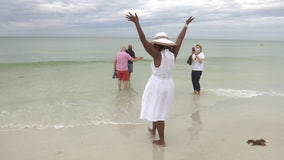 NAACP reenacts beach caravan that led to the integration of Lido Beach