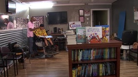 St. Petersburg barber cutting away at youth literacy problem