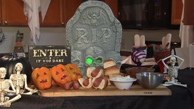 Stuffed Jack-O'-Lanternsand zombie fingers recipe