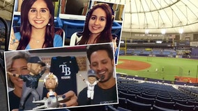 Fans on the edge of their couch with Rays 1 win from World Series