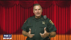 26-year Polk County deputy raises funds for Speech and Hearing Center