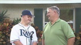 Rays superfan celebrates 'memories for a lifetime' following team's World Series run