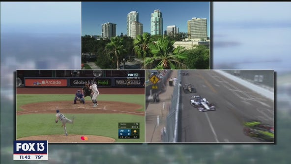 St. Petersburg buzzes with weekend of Rays and racing