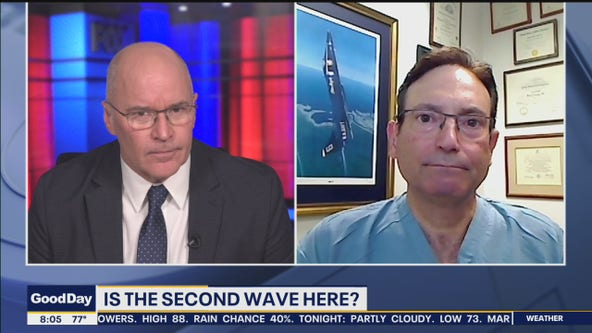 Dr. Mike: Is the second wave here?