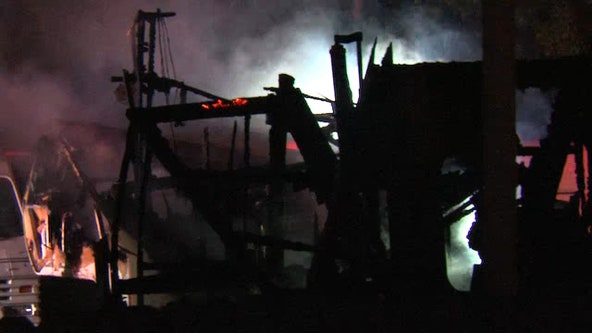 At least one dead in Pinellas Park camper fire