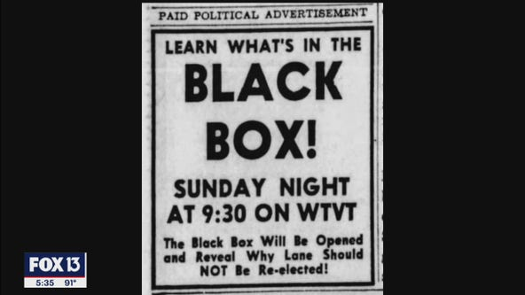 'The black box' that helped topple a Tampa mayor's '63 re-election