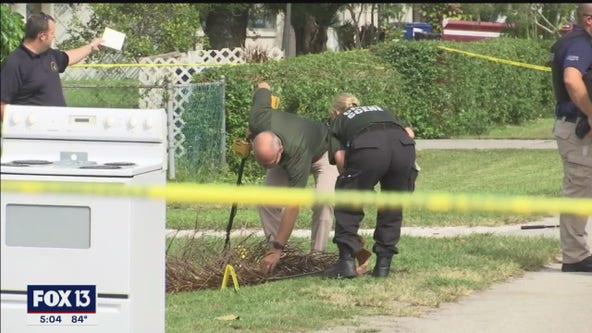 Deputy shoots stabbing suspect who pulled a gun