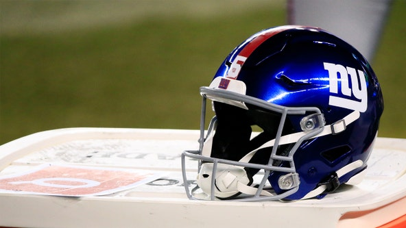Giants player tests positive for COVID-19 ahead of Monday game against Bucs
