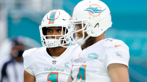 Dolphins QB Fitzpatrick: News of benching made 'heart hurt all day'