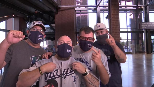 Rays fans bringing the noise in Texas despite being outnumbered