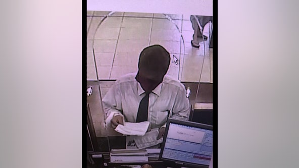 New Port Richey police searching for attempted bank robber
