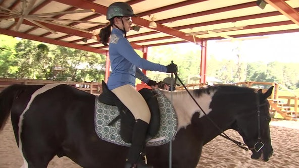 Tarpon Springs woman with cerebral palsy hopes to become member of U.S. Equestrian Team