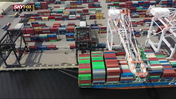 DeSantis touts Florida ports amid supply chain delays