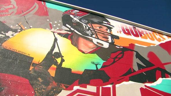 Tom Brady joins vibrant St. Pete arts scene, thanks to popular local artists